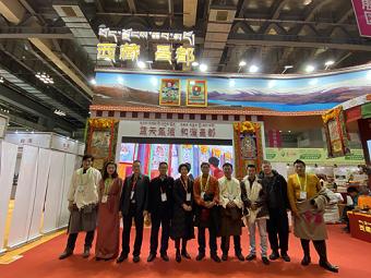 市畜牧总站为西藏昌都市第十九届西部农交会代表团热情服务